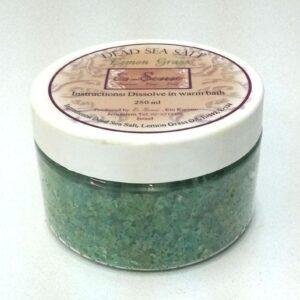 Dead Sea Salt - Lemon grass