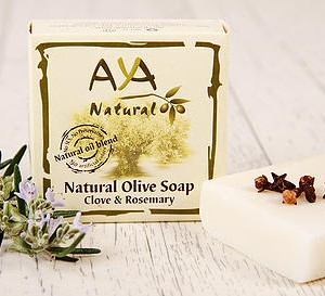 Natural Olive Soap - Clove & Rosemary